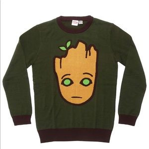 Guardians of the Galaxy Groot Sweater NEW